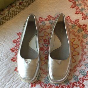 Silver slip on